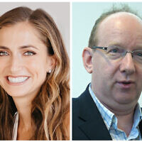 Sara Greenberg and Daniel Finkelstein
