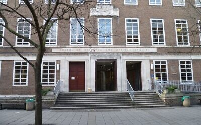 School of Oriental and African Studies (SOAS) (Wikimedia Commons/ AuthorPhilafrenzy / Attribution-ShareAlike 4.0 International (CC BY-SA 4.0)  https://creativecommons.org/licenses/by-sa/4.0/legalcode )