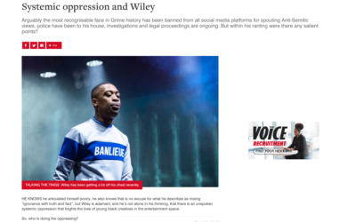 Article from 'The Voice' caused anger in the Jewish community