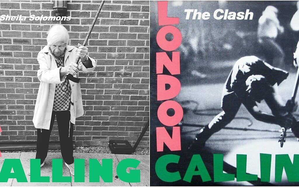 London rest home residents and staff recreate iconic album covers during lockdown
