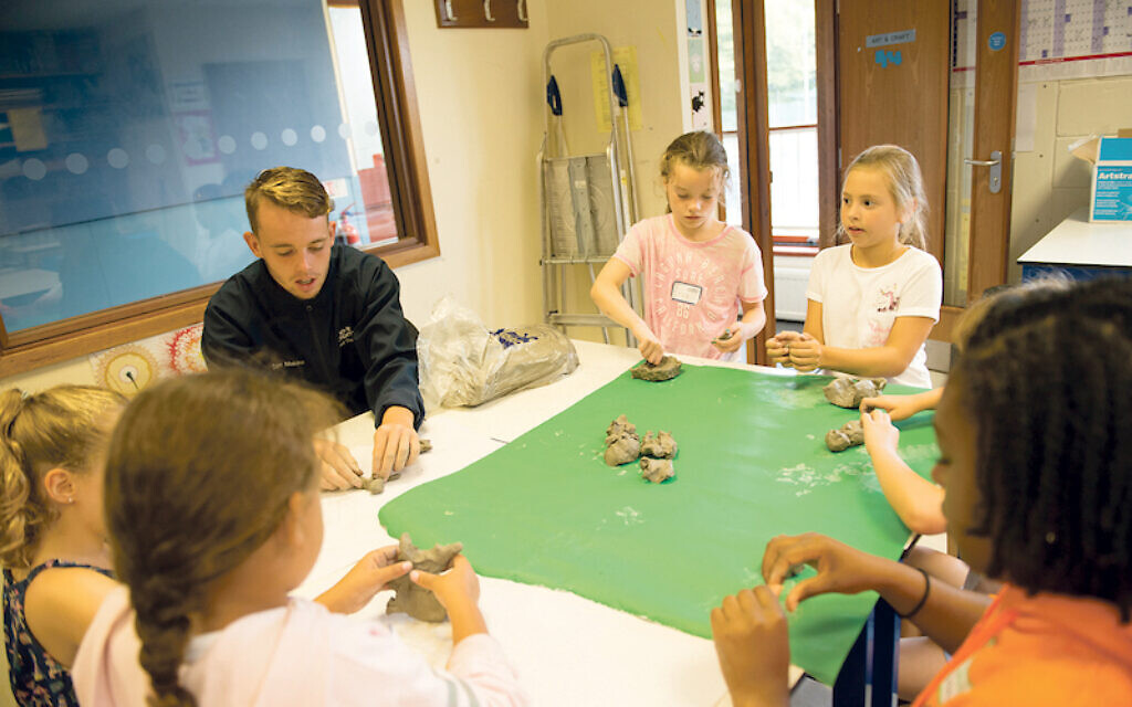 Build a sandcastle in Brent Cross or get creative at camps