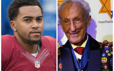 DeSean Jackson (Credit: Wikipedia/Author: Keith Allison/ Attribution - ShareAlike 2.0 Generic (CC BY-SA 2.0) and Ed Mosberg (From The Depths)