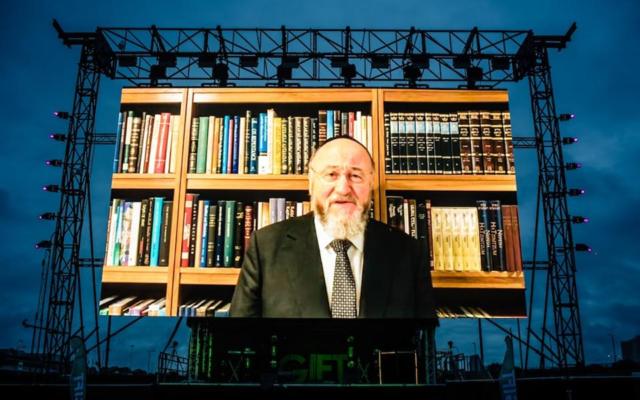 Chief Rabbi Ephraim Mirvis (Credit: Credit: Blake Ezra)