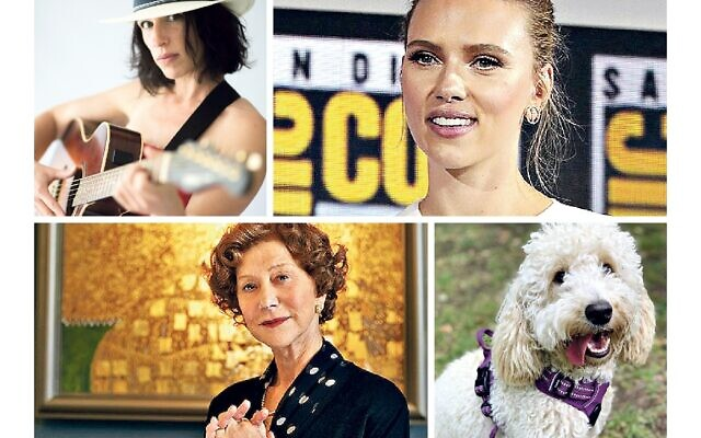 Lana Shelley, Scarlett Johansson, Helen Mirren and a Jewish pooch!