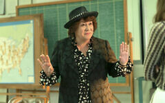 Margo Martindale as Bella Abzug in Mrs. America