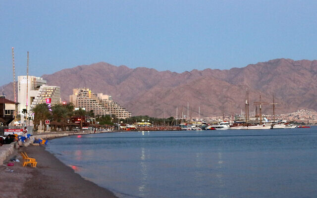 Eilat beach and harbour (Credit: Banja-Frans Mulder, Wikipedia Commons)