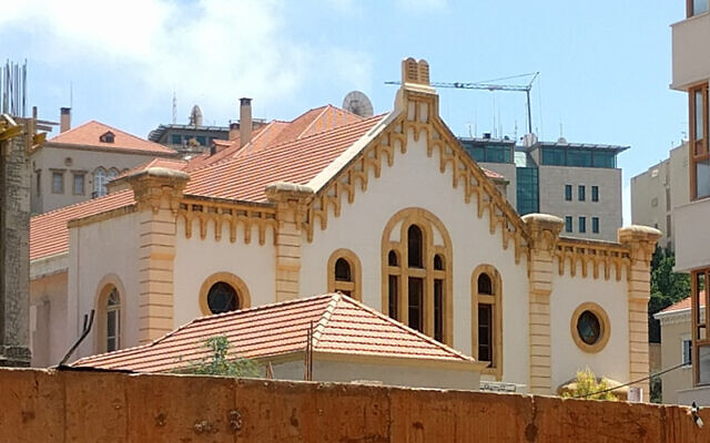 Maghen Abraham Synagogue in Beirut (Wikipedia/Author Omarali85 /Attribution-ShareAlike 4.0 International (CC BY-SA 4.0) https://creativecommons.org/licenses/by-sa/4.0/legalcode)