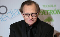 Larry King (Credit: Gage Skidmore from Peoria, AZ, United States of America - Wikimedia Commons)