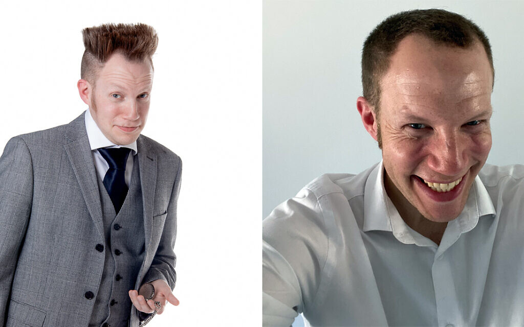 Before and after: Phil 'The Hair' Dave then... and now