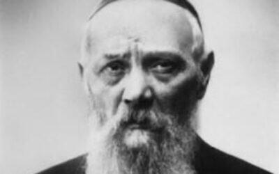 Levi Yitzchak Schneerson (Wikipedia)