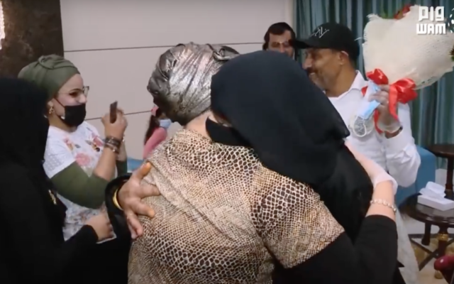 Emotional embrace in Abu Dhabi as Jewish family flown from London and Yemen for reunification