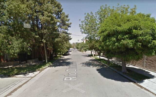 A street in Neuquen's Villa Farrell neighbourhood where the posters were reportedly discovered (Google Maps Street View)