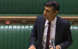 Chancellor of the Exchequer Rishi Sunak sets outs his Winter Economy Plan to MPs in the House of Commons, London.