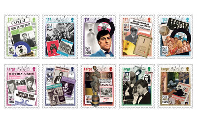 The Isle of Man Post Office has released a special stamp set celebrating the career of Mitch Murray