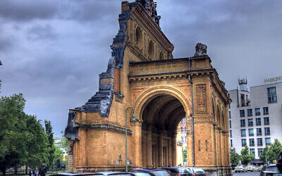 Remains of the Anhalter Bahnhof station