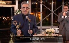 Eugene Levy (Screenshot from the Television Awards on Youtube)