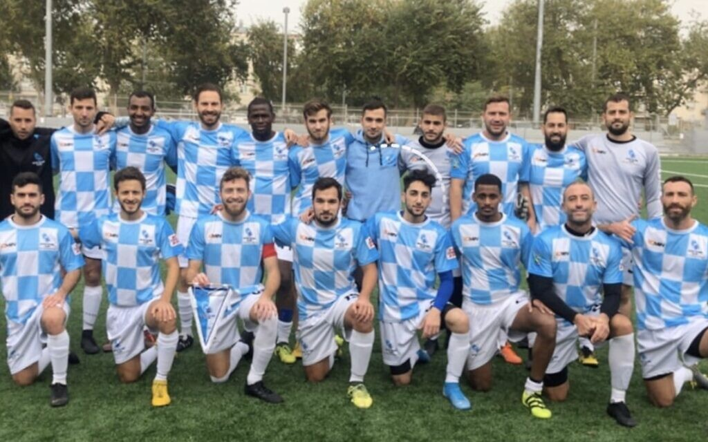 Inter Aliyah, club of Olim founded by two Brits, takes on Israeli football
