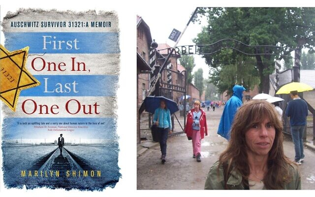 First One In, Last One Out by Marilyn Shimon, pictured on right, is published by Mirror Books (RRP £8.99)