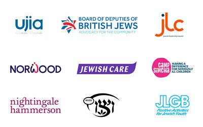 UJIA, the Board, The JLC, Norwood, Jewish Care, Camp Simcha, Nightingale Hammerson, Wizo and JLGB
