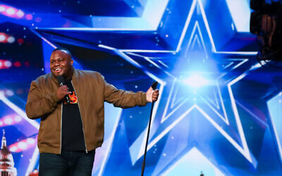 Nabil Abdulrashid performing on Britain's Got Talent as the semi-finalists have been revealed after the show returned to the screen. (Tom Dymond/Syco/Thames/PA Images)