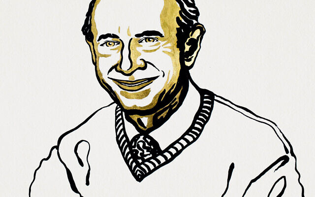 Image issued by Nobel Media of an illustration of Harvey J Alter, one of the three men who have jointly won the Nobel Prize in Physiology or Medicine.