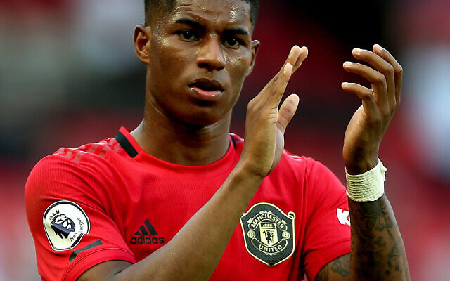 Manchester United's Marcus Rashford (Nigel French/PA Wire/PA Images)