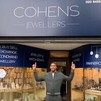 AJ at Cohens Jewellers