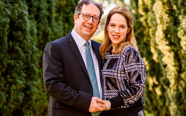 Rabbi Daniel Epstein, a Londoner, and Rebbetzin Ilana Epstein, a New Yorker, will take over from Rabbi Lionel and Natalie Rosenfeld in the spring. After more than 25 years at the shul, they returning to Israel to retire early next year.