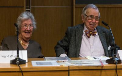 Ingrid and Henry Wuga