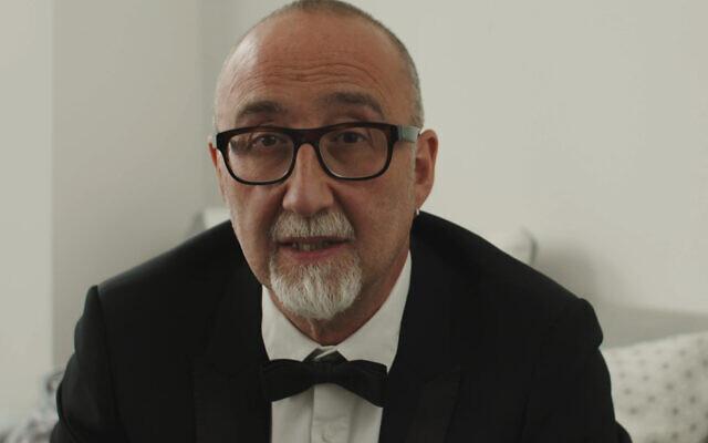 Ivor Baddiel at Langdon's virtual annual dinner