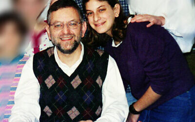Malki and Arnold Roth in 2000
