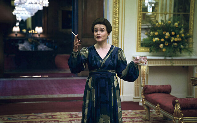 Picture shows: Princess Margaret (HELENA BONHAM CARTER). Filming Location: Goldsmiths Hall