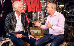 Virgin Atlantic boss Shai Weiss in conversation with the airline's founder Richard Branson