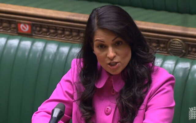 """Home Secretary Priti Patel making a statement to MPs in the House of Commons, London, where she promised a """"full evaluation"""" of the hostile environment policy in the wake of the Windrush scandal."""