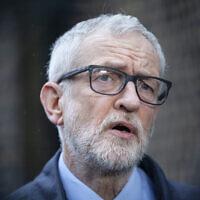 Former Labour leader Jeremy Corbyn