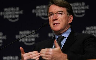 Peter Mandelson (Wikipedia/ SourceL Copyright World Economic Forum (www.weforum.org) / Natalie Behring. Author: World Economic Forum on Flickr / Attribution-ShareAlike 2.0 Generic (CC BY-SA 2.0))