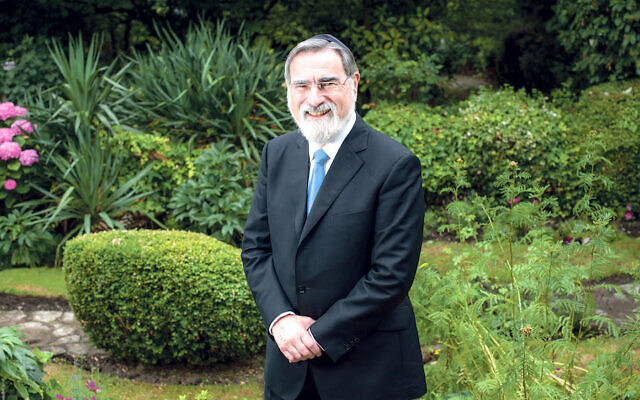 Former Chief Rabbi, Lord Sacks. (Blake-Ezra Photography Ltd)