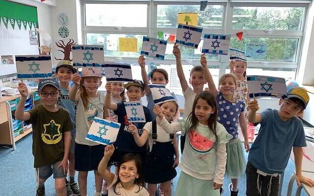 Children at Beit Shvidler's Summer scheme, one of over 25 projects backed by UJIA