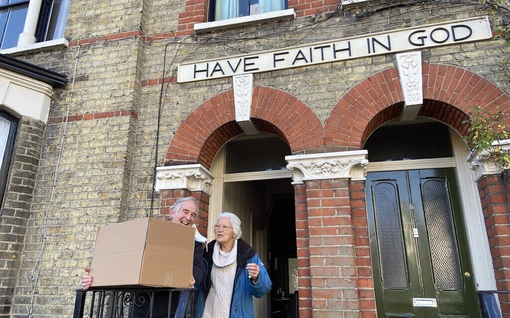 East London & Essex Liberal cakes received by Keith and Ruth who run Mill Grove