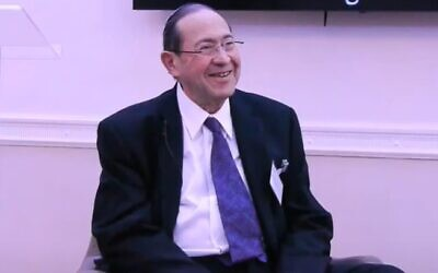 Eldred Tabachnik (Screenshot:  Centre For Jewish Life)