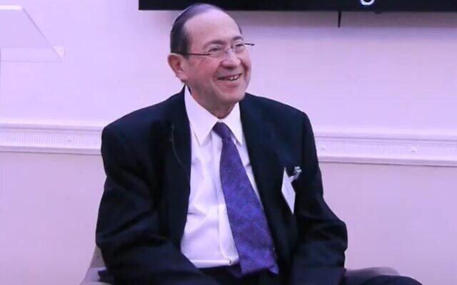 Eldred Tabachnik (Screenshot:  Centre For Jewish Life)