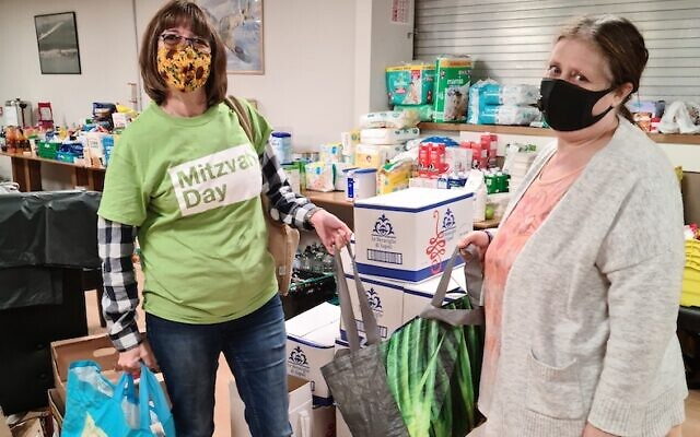 Hillingdon collection for Mitzvah Day