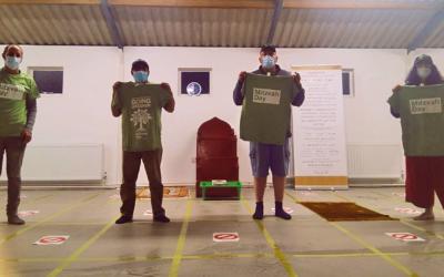 Interfaith volunteers prepare for Borehamwood Mosque Gratitude event