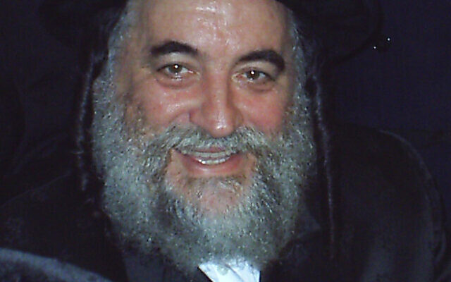 Rabbi Israel Hagar (Wikipedia/Author: S. Hacohen Attribution: שמואל כהנא / Attribution-ShareAlike 3.0 Unported (CC BY-SA 3.0) /
