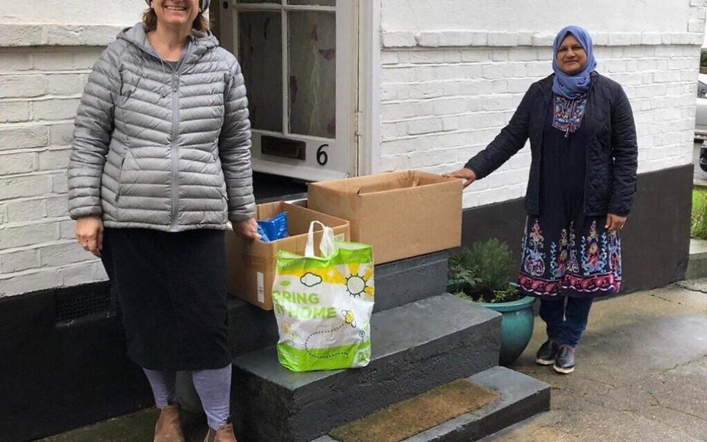 Nisa-Nashim Edgware interfaith doorstep deliverY