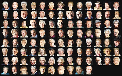 Holocaust survivors featured in Matt Writtle's book, Portraits for Posterity, which is published on 16 November