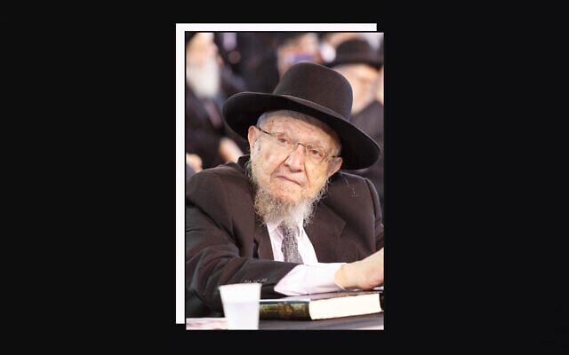 Rabbi Dovid Feinstein led the Mesivtha Tiferes Yerushalayim yeshiva on the Lower East Side for decades, succeeding his late father. (Courtesy of Agudath Israel via JTA)
