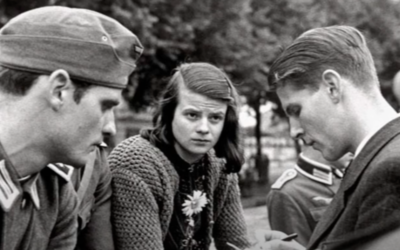 Sophie Scholl (Screen shot from YouTube via JTA)