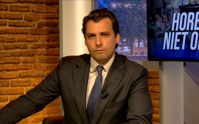Thierry Baudet (Wikipedia/ Sourcehttps://www.youtube.com/watch?v=hOwefcREXvk AuthorForum voor Democratie/Attribution 3.0 Unported (CC BY 3.0)  https://creativecommons.org/licenses/by/3.0/legalcode)