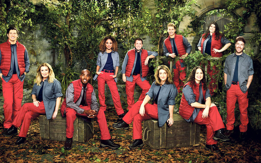 I'm A Celebrity…Get Me Out Of Here! contestants. Pictured: Vernon Kay, Beverley Callard, Sir Mo Farah CBE, Jessica Plummer, Shane Richie, Victoria Derbyshire, AJ Pritchard, Giovanna Fletcher, Hollie Arnold MBE and Jordan North.
